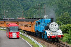 大井川鐵道 SL 並走